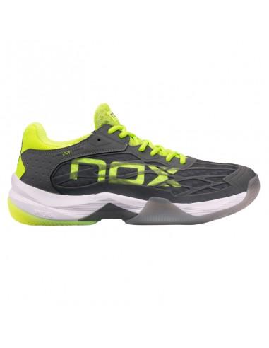 Zapatillas Nox AT10 Lux Gris Amarillo
