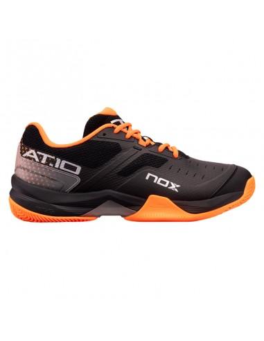 Zapatillas Nox AT10 Negro/Naranja